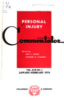 Personal Injury Commentator