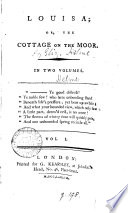 Louisa  Or  the Cottage on the Moor Book PDF