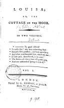 Louisa; or, the cottage on the moor