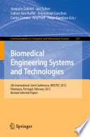 Biomedical Engineering Systems And Technologies Book PDF