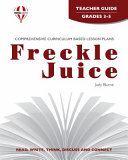 Freckle Juice Teacher Guide Book PDF