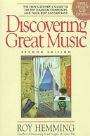 Discovering Great Music Book