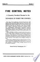 Fire Control Notes Book PDF