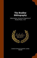 The Bradley Bibliography