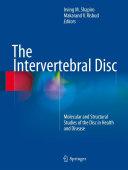 Pdf The Intervertebral Disc Telecharger