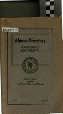 Alumni Directory     Book
