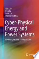 Cyber Physical Energy and Power Systems