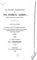 An English Translation of the Sushruta Samhita Based on Original Sanskrit Text