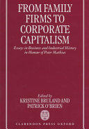 From Family Firms to Corporate Capitalism