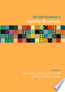The SAGE Handbook of Family Business