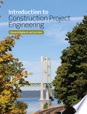 Introduction to Construction Project Engineering Book