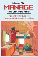 How To Manage Your Home Book