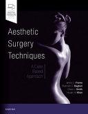 Aesthetic Surgery Techniques Book