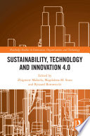Sustainability  Technology and Innovation 4 0 Book PDF