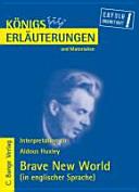 Interpretation Zu Aldous Huxley Brave New World
