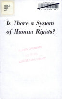 Is There A System Of Human Rights