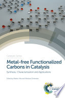 Metal free Functionalized Carbons in Catalysis Book