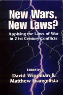 New Wars  New Laws