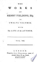The Works of Henry Fielding     With the Life of the Author Book PDF