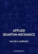 Applied Quantum Mechanics Pdf/ePub eBook