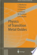 Physics of Transition Metal Oxides Book