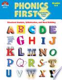Phonics First Grades 2 4 Ebook