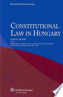 Constitutional Law in Hungary