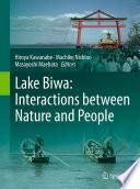 Lake Biwa Interactions Between Nature And People