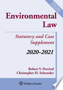Environmental Law  Statutory and Case Supplement