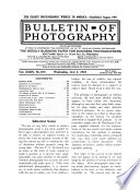 Bulletin of Photography