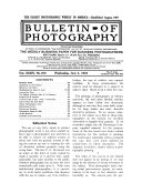 Bulletin Of Photography PDF