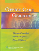 Pdf Office Care Geriatrics