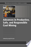 Advances in Productive  Safe  and Responsible Coal Mining Book