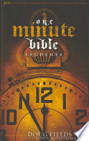 One Minute Bible For Students Book PDF