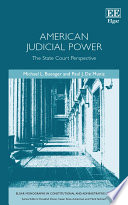 American Judicial Power  : The State Court Perspective