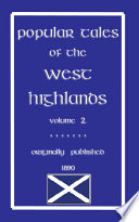 POPULAR TALES OF THE WEST HIGHLANDS Vol. 2