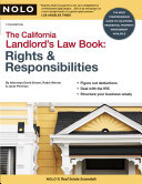 California Landlord's Law Book - Band 1