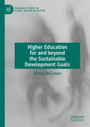 Higher Education for and beyond the Sustainable Development Goals Pdf/ePub eBook
