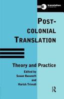 Post-colonial Translation