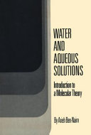 Water and Aqueous Solutions Book