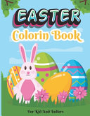 Easter Coloring Book For Kids And Toddlers