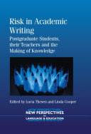 Risk in Academic Writing