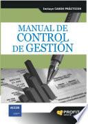 Manual de control de gestión  : Incluye casos prácticos