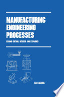 Manufacturing Engineering Processes  Second Edition