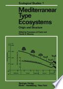 Mediterranean Type Ecosystems