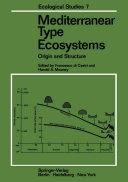 Mediterranean Type Ecosystems [Pdf/ePub] eBook