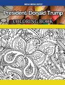 President Donald Trump Coloring Book