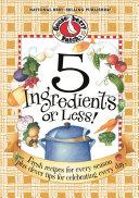 5 Ingredients Or Less Pdf/ePub eBook
