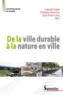 De la Ville durable à la nature en ville Pdf/ePub eBook