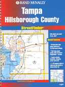 Rand McNally Streetfinder Tampa Hillsborough  FL